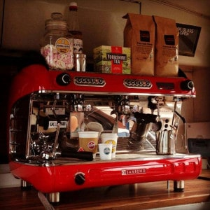mobile catering coffee machine
